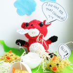 Amigurumi Fox ~ The Sun and the Turtle