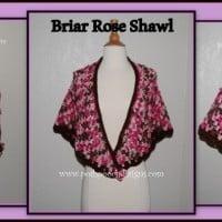 Briar Rose Shawl ~ Sara Sach – Posh Pooch Designs