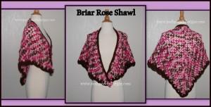Briar Rose Shawl ~ Sara Sach - Posh Pooch Designs