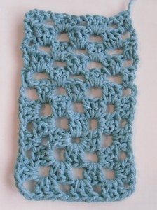 How to Make a Granny Square into a Rectangle ~ Crochet Spot