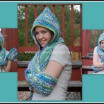 Scoodie – Hooded Scarf with Pockets ~ Sara Sach – Posh Pooch Designs