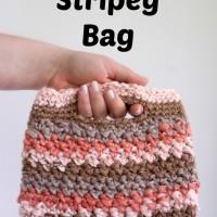 Chunky Stripey Bag ~ Moogly