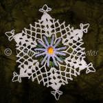 Chamomile Snowflake ~ Snowcatcher