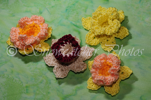 Free Daffodil Doily Crochet Pattern : Daffodil ~ FREE Crochet Pattern