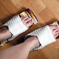 Mopping Shoes ~ Crochet Parfait