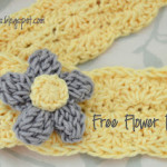 Triple Crochet Bubble Flower ~ Alli Crafts