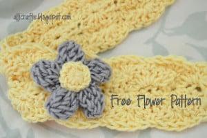 Triple Crochet Bubble Flower ~ Alli Crafts