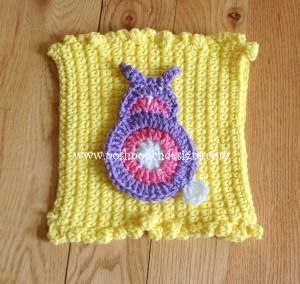 Bunny coaster ~ Sara Sach - Posh Pooch Designs