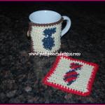 Neck Tie Coaster and Cozy ~ Sara Sach – Posh Pooch Designs