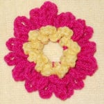 Collarette Dahlia Scrunchie ~ Suzies Stuff