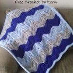 I Love This Soft Ripple Baby Blanket ~ EyeLoveKnots