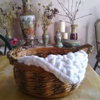 Super Bulky Minin Blanket Basket Filler ~ EyeLoveKnots