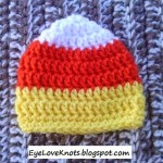 Preemie Candy Corn Hat ~ Alexandra Richards – EyeLoveKnots
