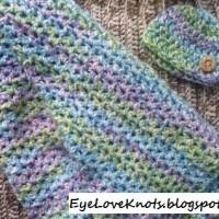 Chunky Baby Blanket ~ EyeLoveKnots