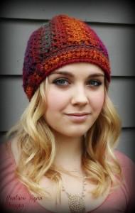Effortless Chic Crochet Beanie ~ Beatrice Ryan Designs
