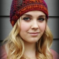 Effortless Chic Crochet Beanie ~ Beatrice Ryan Designs