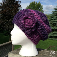 Enchanted Infinity Slouch Hat ~ Oombawka Design