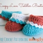 Loopy Love Toddler Booties ~ Moogly