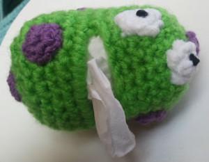 Germ Tissue Holder ~ Crochet Dynamite