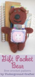 Gift Pocket Bear ~ Underground Crafter