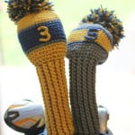 Crochet Golf Club Cover Pattern ~ Repeat Crafter Me