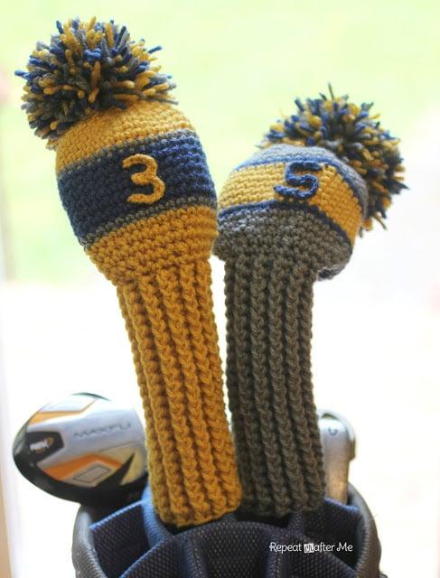 Amigurumi Golf Club Covers : Crochet Golf Club Cover Pattern ~ FREE Crochet Pattern