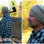 Hickory Bark Beanie ~ Kathy Lashley - ELK Studio