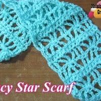 Lacy Star Scarf ~ Meladora's Creations