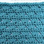 Simplest Shell Stitch Square ~ Oombawka Design