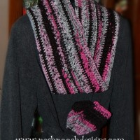Infinity Mobius Scarf- Scarf With a Twist ~ Sara Sach - Posh Pooch Designs