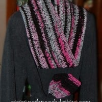 Infinity Mobius Scarf- Scarf With a Twist ~ Sara Sach – Posh Pooch Designs