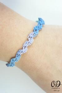 Ocean Waves Summer Bracelet ~ Oombawka Design