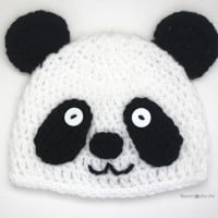 Panda Bear Hat ~ Repeat Crafter Me