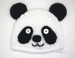 Panda Bear Hat ~ Repeat Crafter Me