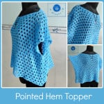 Pointed Hem Topper ~ Maz Kwok's Designs