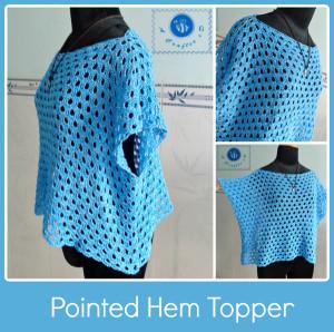 Pointed Hem Topper ~ Maz Kwok's Designs