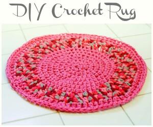 DIY Crochet Rug ~ Petals to Picots