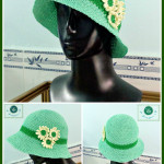 Daisy's Clothe Hat ~ Maz Kwok's Designs