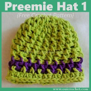 Preemie Hat 1 ~ Oui Crochet