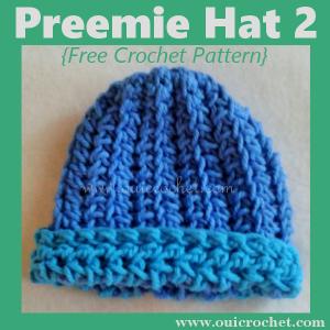 Preemie Hat 2 ~ Oui Crochet