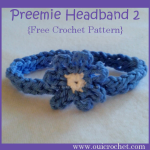 Preemie Headband ~ Oui Crochet