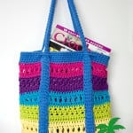 X-Stitch Market Bag ~ Pattern Paradise
