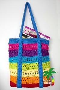 X-Stitch Market Bag ~ Pattern Paradise