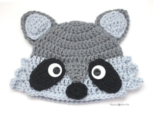 Raccoon Hat ~ Repeat Crafter Me