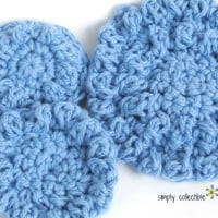Quick n Easy Reusable Cotton Balls or Spa Scrubbie ~ Celina Lane ~ Simply Collectible Crochet