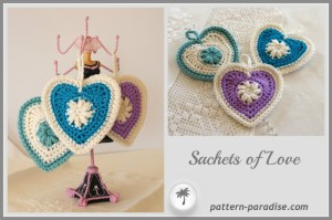Sachets of Love ~ Pattern Paradise