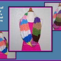 Scarf Of Many Colors ~ Sara Sach - Posh Pooch Designs