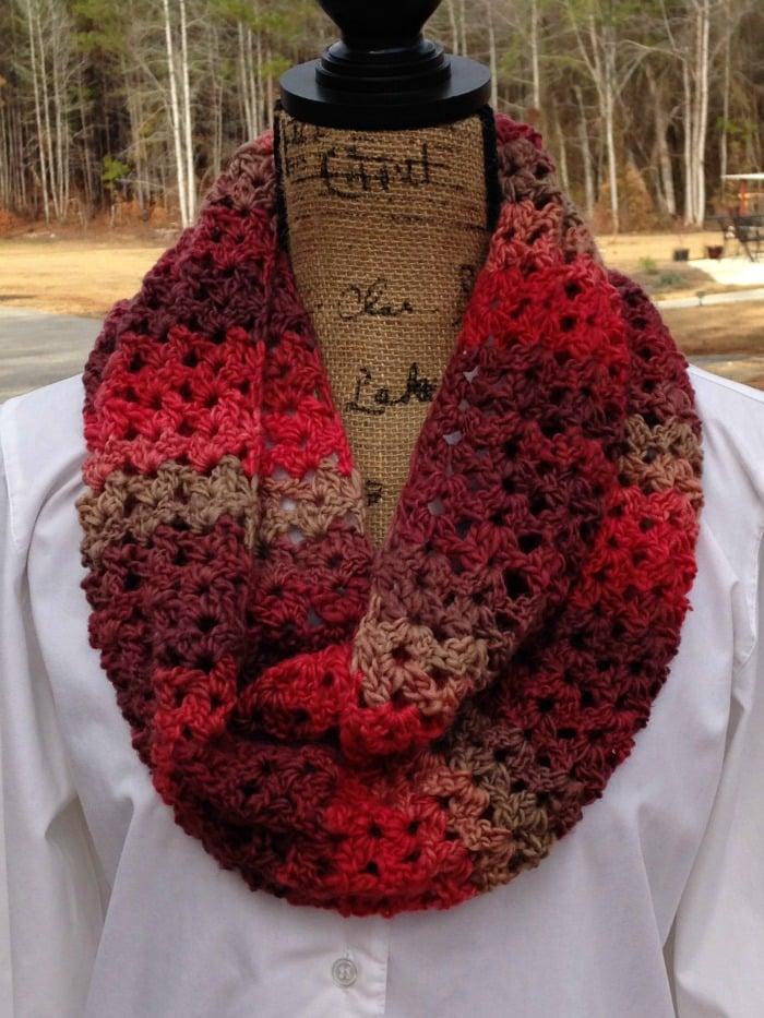 Sunset Scarf FREE Crochet Pattern