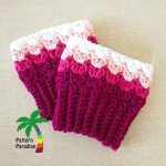 Sweetheart Boot Cuffs ~ Pattern Paradise