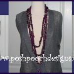 Twilight Sparkle Beaded Necklace ~ Sara Sach – Posh Pooch Designs
